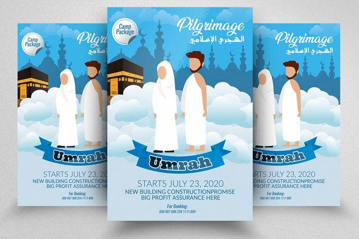 Umrah/Hajj Flyer Template