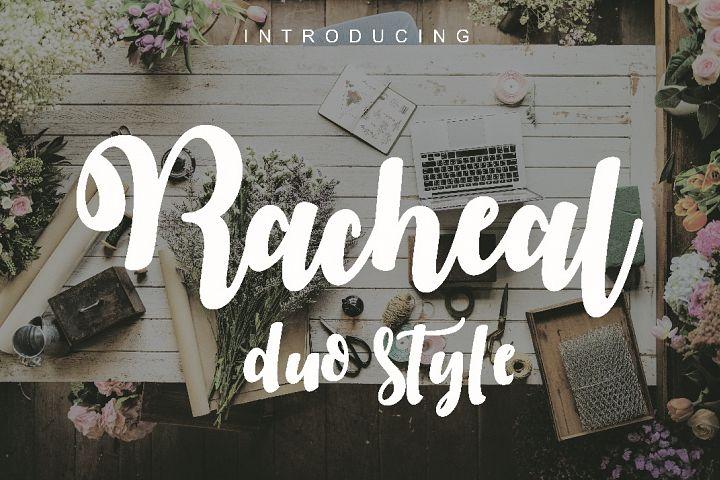 Racheal script-duo style