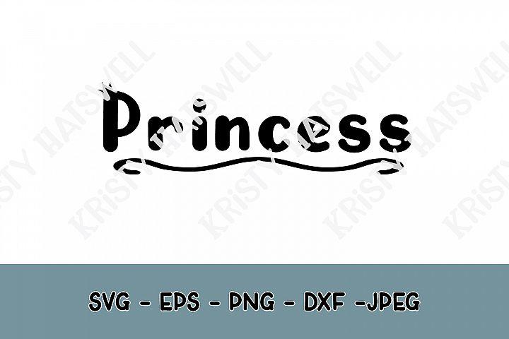 Princess SVG