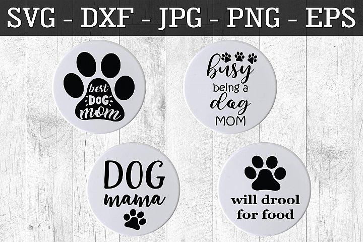 Dog Lover Magnet SVG EPS PNG Fun Dog Magnet Cut File