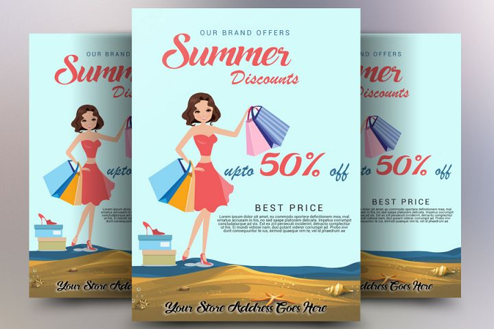 Summer Discount Flyer