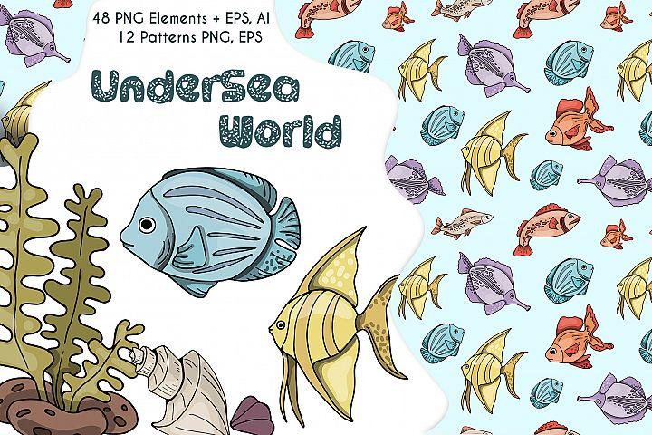 UnderSea World - vector set