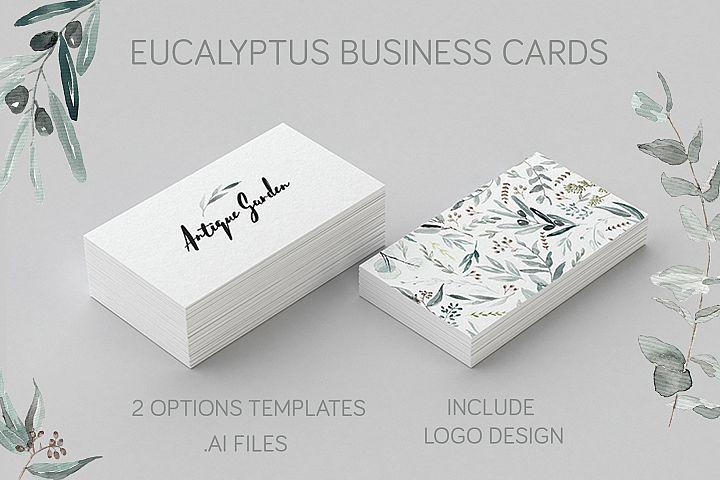 Eucalyptus Business Card Template