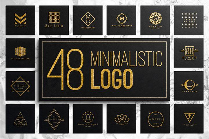 48 Minimalistic Logo