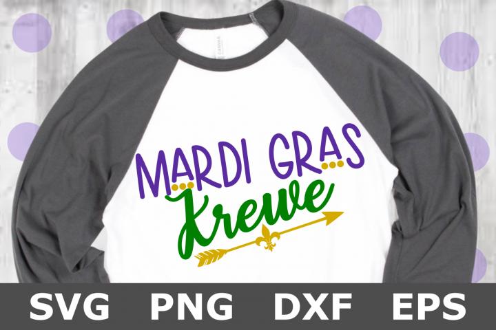 Mardi Gras Krewe - A Mardi Gras SVG Cut File