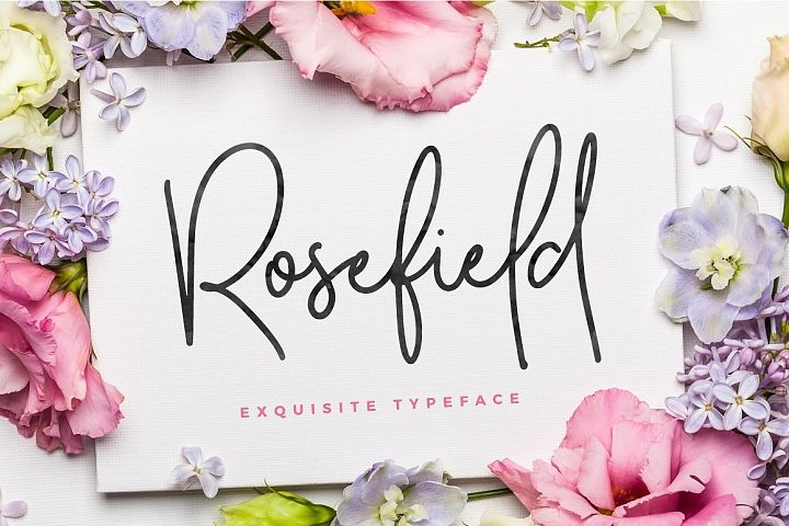 Rosefield Typeface