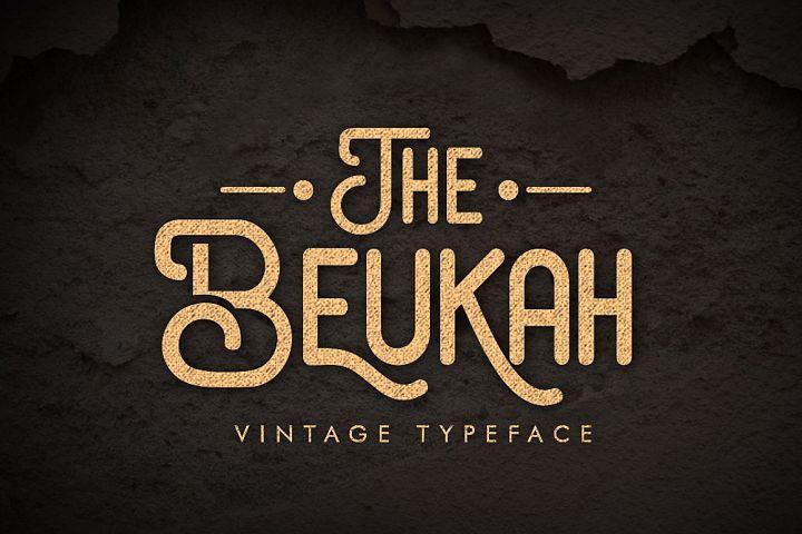 The Beukah (Duo Font)