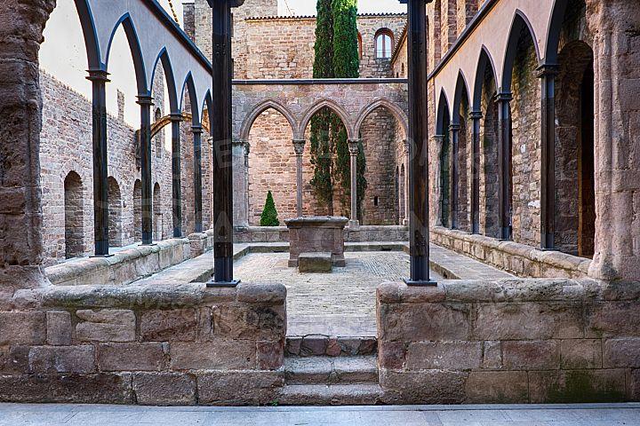 Inner Courtyard Of Cardona Castle 3- Photo