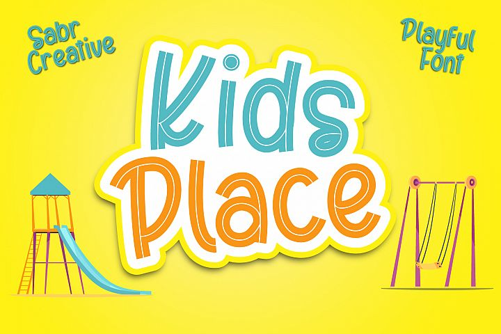 Kids Place Font