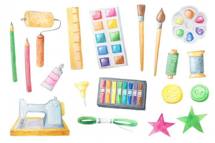 Watercolor Craft Collection  example 1