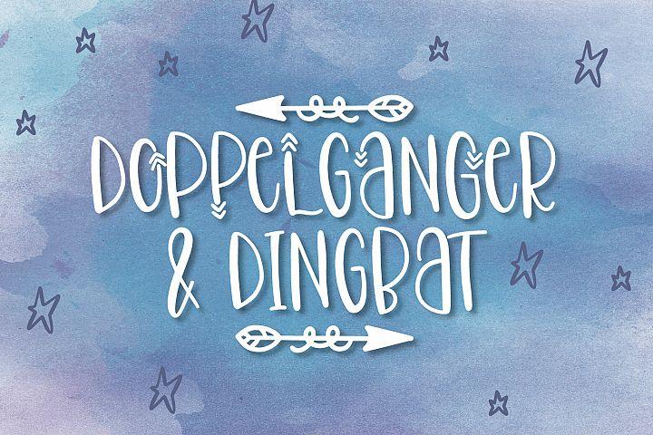 Doppelganger & Dingbat - A Font Duo