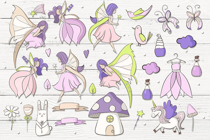 Fairies - Free Design of The Week Design0