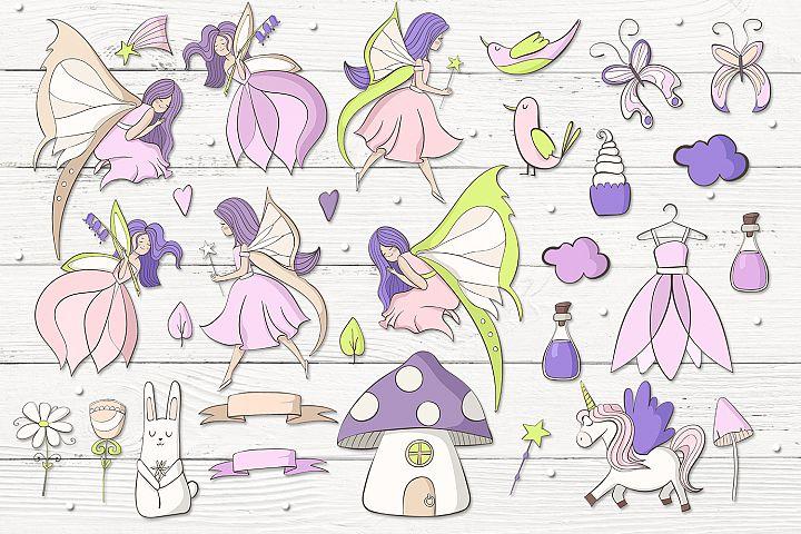 Fairies - Free Design of The Week Design 1