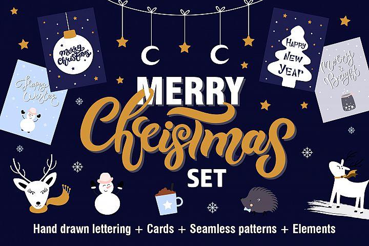 Merry Christmas Set