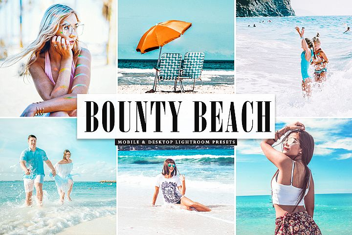 Bounty Beach Mobile & Desktop Lightroom Presets