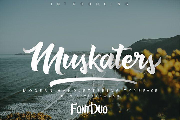 Muskaters. duo style + font bonus