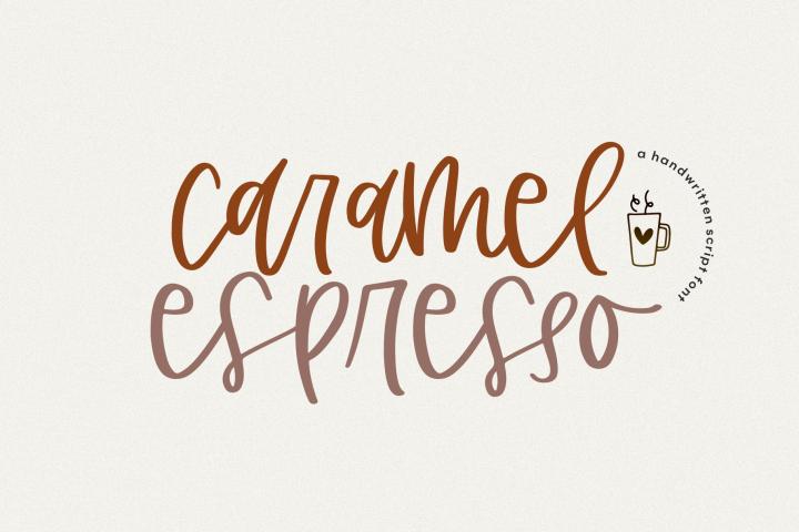 Caramel Espresso - A Quirky Handwritten Font