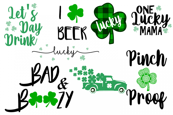St Patricks Bundle BUNDLE SVG File