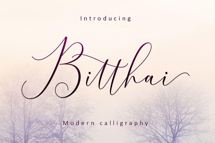 Bitthai Script