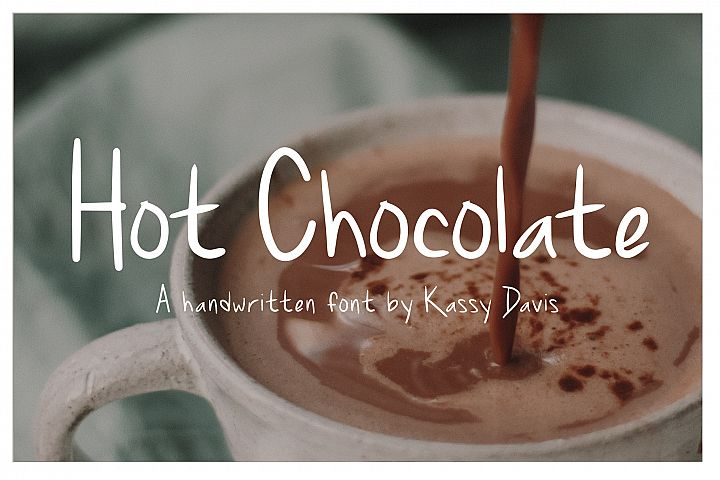 Hot Chocolate Handwritten Font