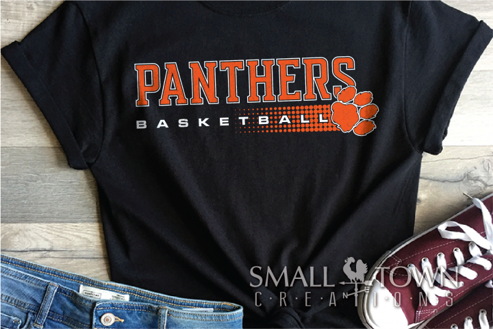 Panthers, Basketball, Team, Sport, Logo, PRINT, CUT & DESIGN