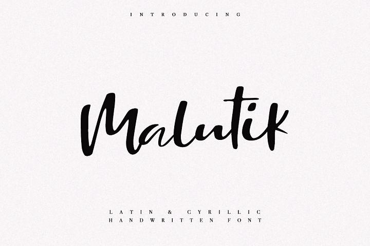 Malutik | Cyrillic & Latin