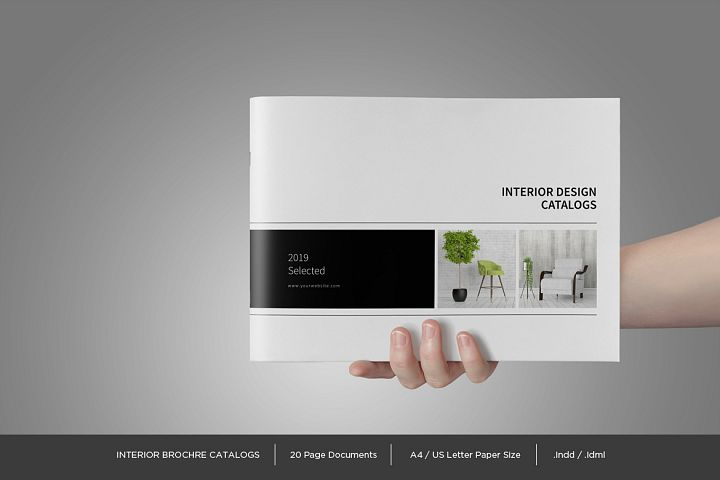 Interior Brochure Catalog Template