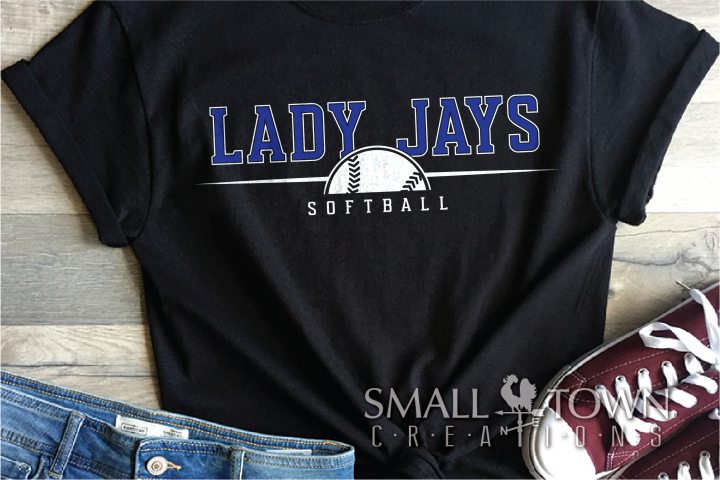 Lady Jays, Softball, Mascot, Design, PRINT, CUT, DESIGN