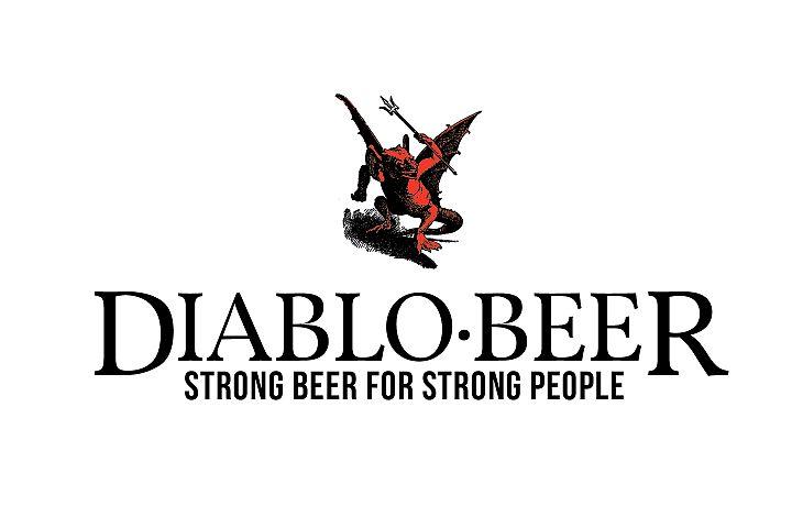 Diablo Beer Logo Template