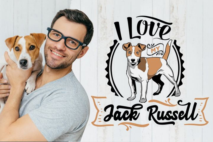 I love my Jack Russell SVG