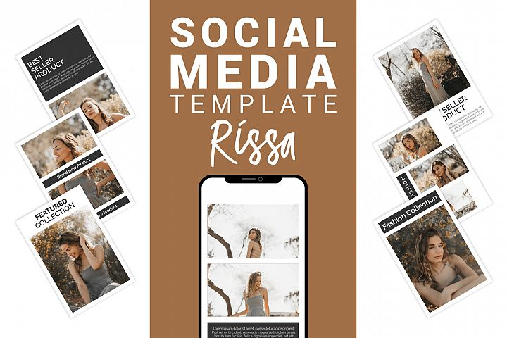 Rissa - Fashion Social Media Template