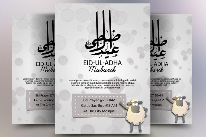 Eid ul Azha Flyer