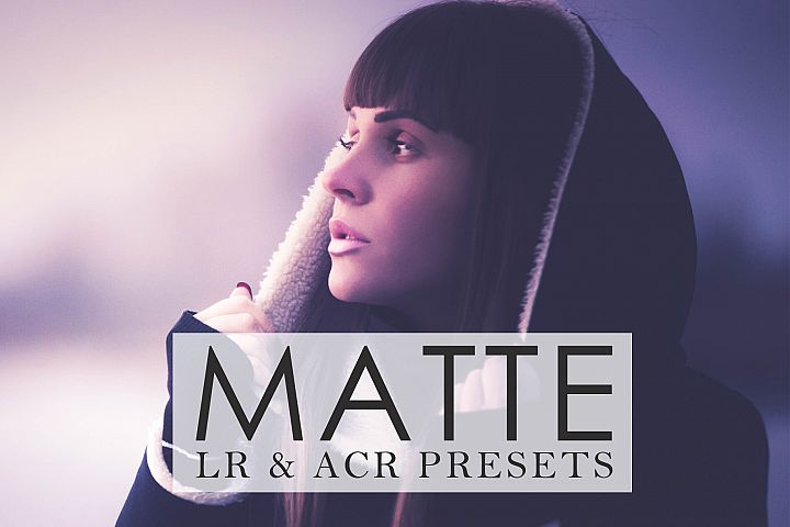 Matte Lr and ACR Presets