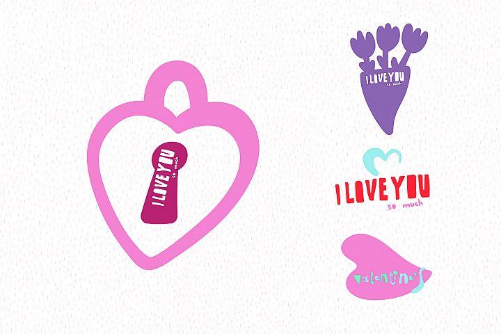 Valentines Day Vector_part 12