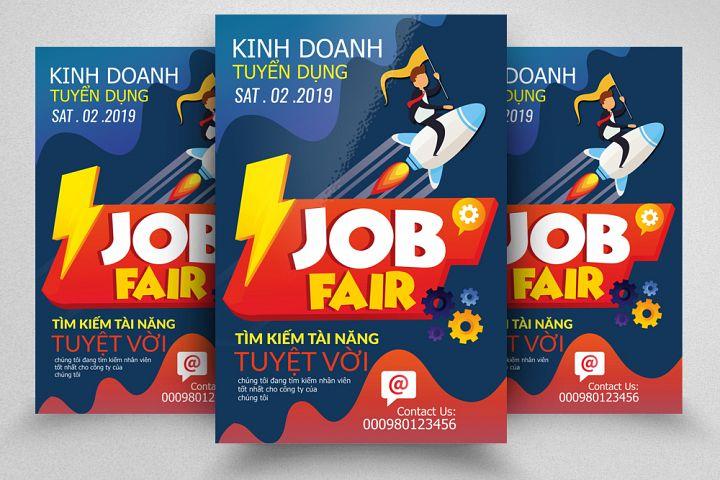 Job Fair & Hiring Flyer Template