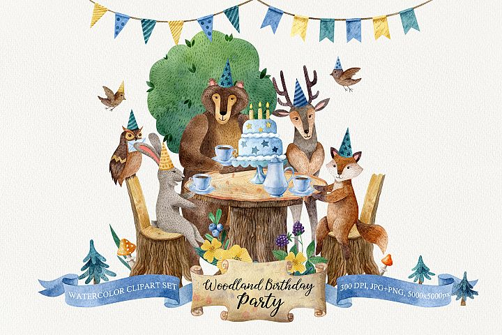 Woodland Birthday Party