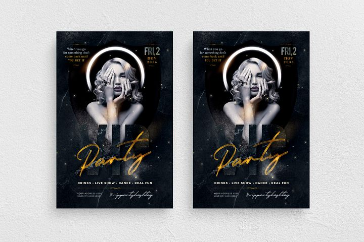 Vip Party Flyer Template