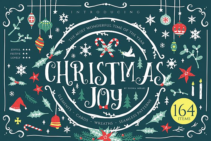 Christmas Joy - Cute and Festive Graphic Pack