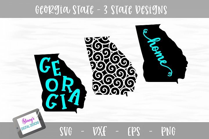 Georgia Mini Bundle - 3 Georgia State Designs