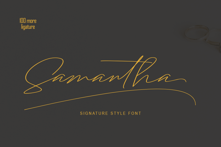 Samantha Signature
