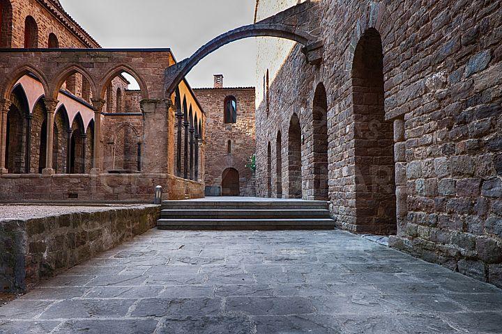 Inner Courtyard Of Cardona Castle - Photo