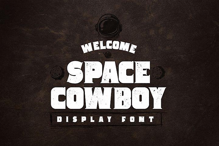 Space Cowboy - Display Serif Font