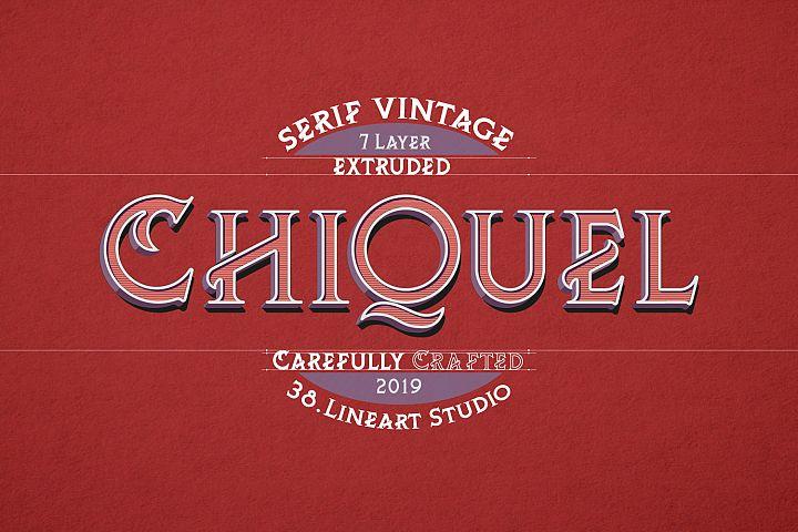 ChiQuel Serif Vintage