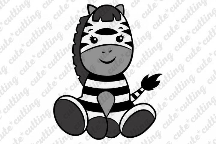Zebra svg, Baby Zebra svg, cutting file svg, dxf, png, jpeg