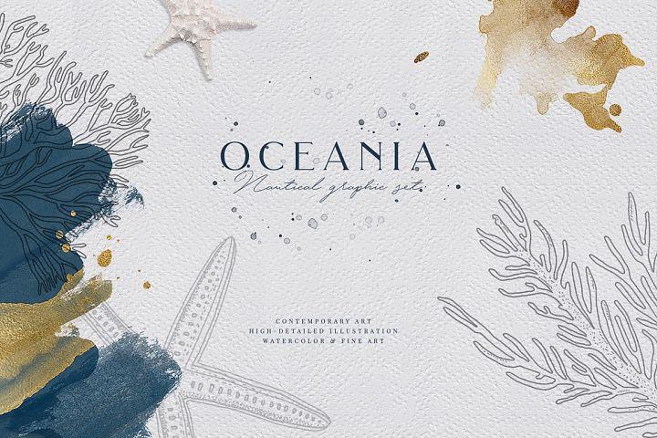 Oceania. Fine Art Graphics