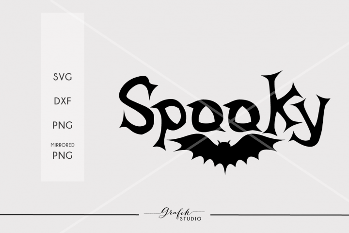 Spooky Halloween SVG File example 2