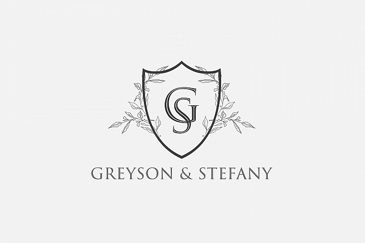 Luxury Royal Wedding Logo