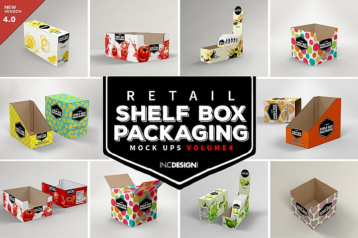 Shelf Box Packaging Volume 4
