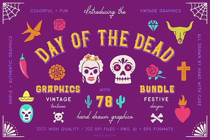 Day of the Dead Graphics Bundle