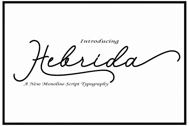 Hebrida Script